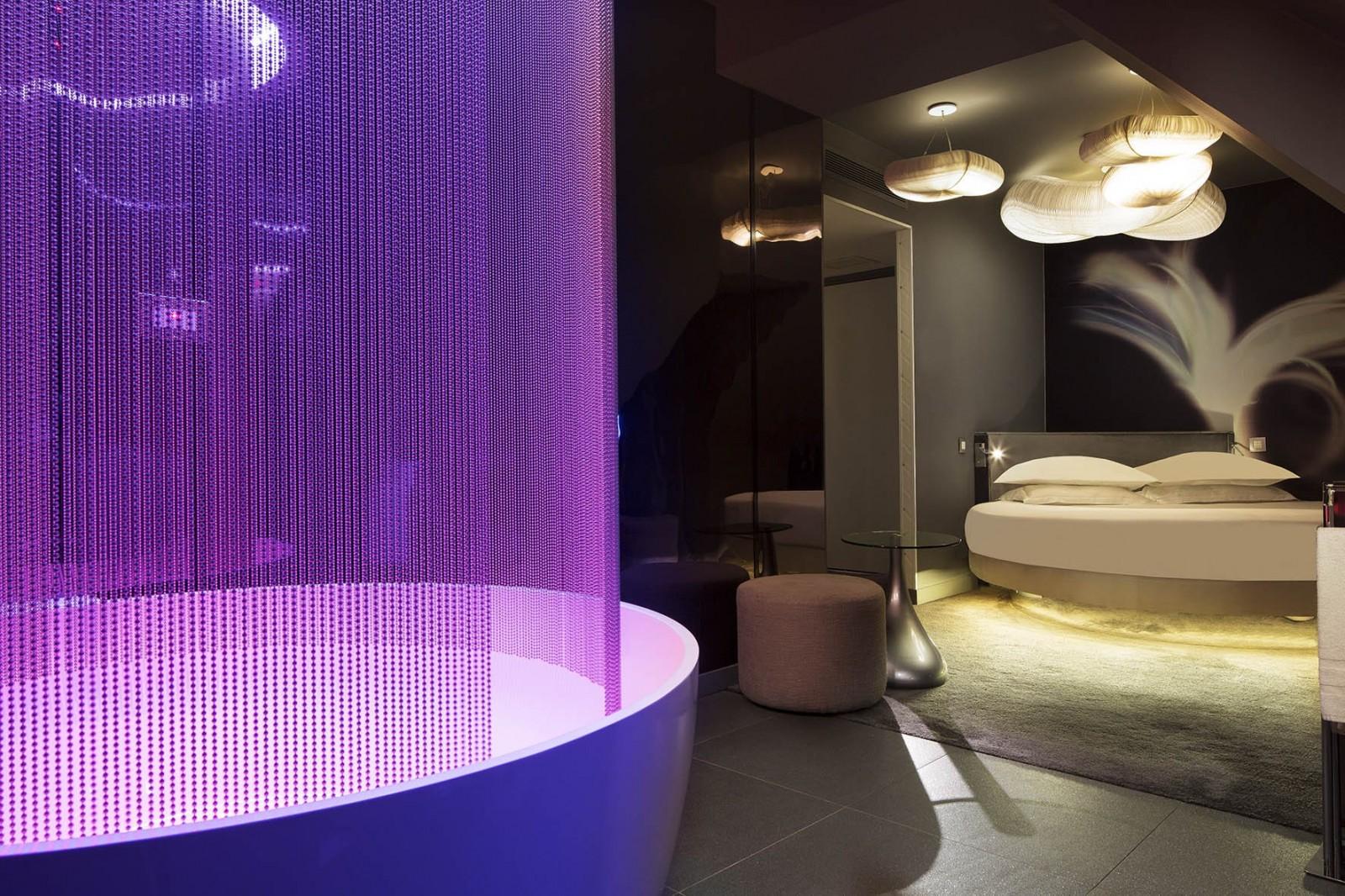 Hotel Letto Rotondo.Camere Moderne Hotel Albert S Parigi Il Migliore Tra I